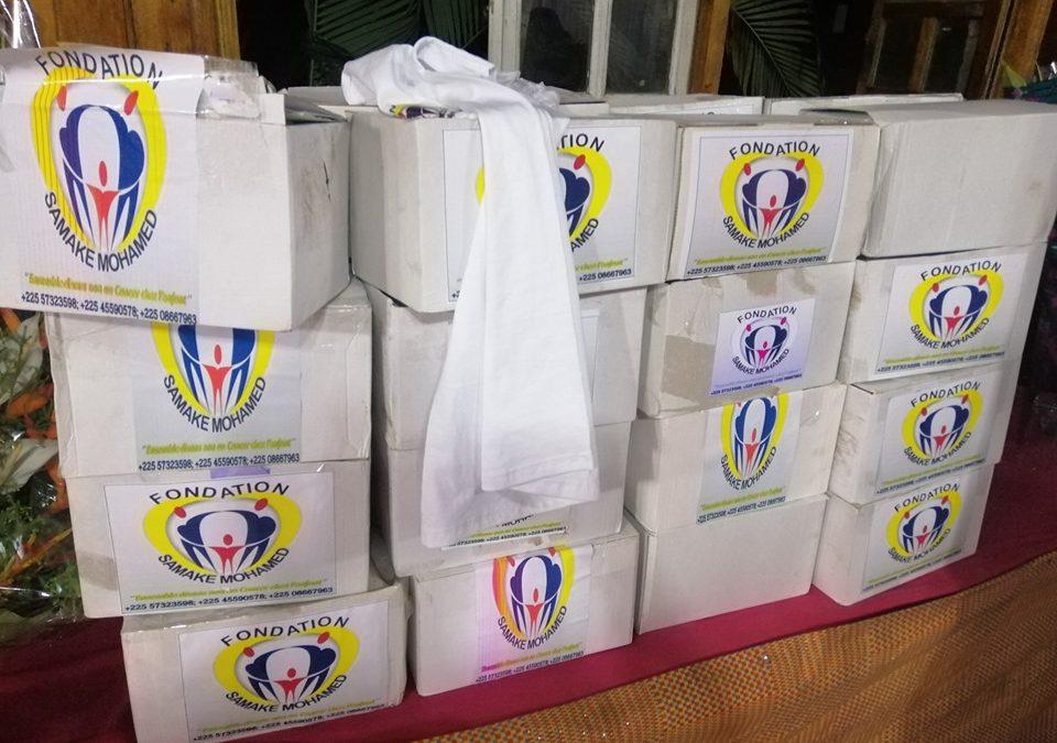 ONG ALINE – Remise de dons par la Fondation SAMAKÉ Mohamed