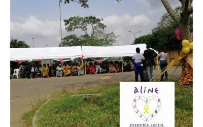 Célébration de la journée internationale du cancer de l'enfant, l'ONG Aline sensibilise