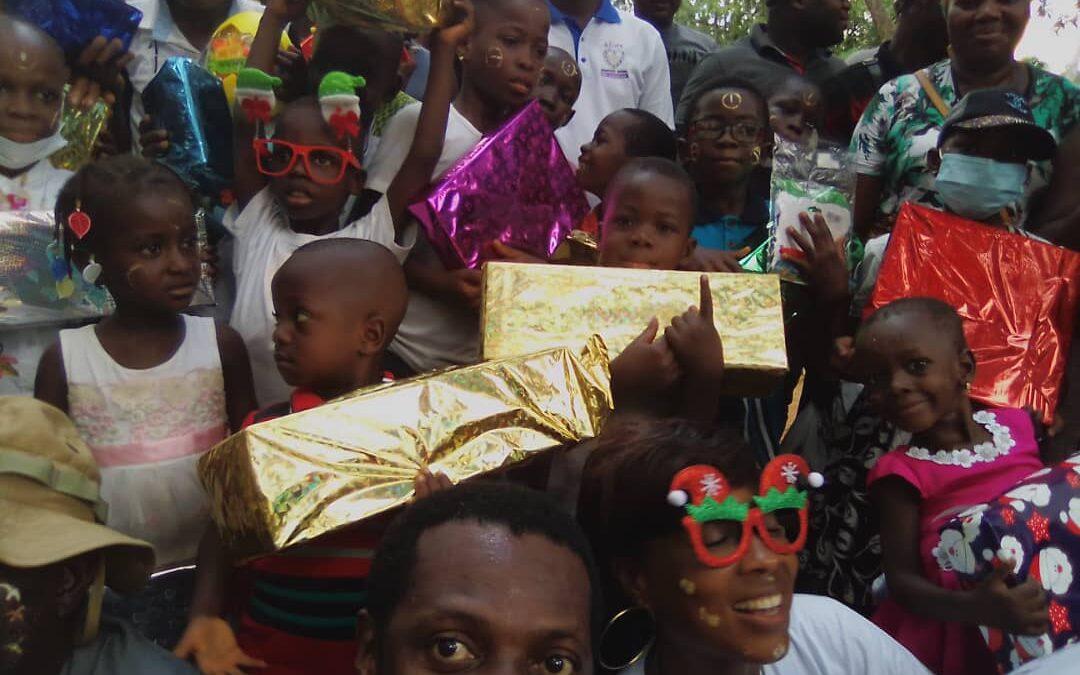 Portfolio | Noel de rêve 2020 organisé par l'ONG Aline pour égailler les enfants atteints de cancer